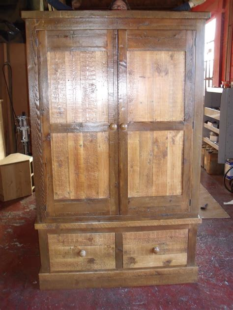 Driftwood Wardrobe by Driftwood Timber Large Wardrobe With 2 Drawers
