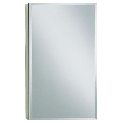 kohler surface mount medicine kohler 15 in w x 26 in h single door recessed or surface