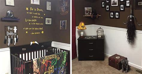 Harry Potter Nursery Decor Parents Create Harry Potter Nursery For Their Muggle Born Wizard Bored Panda