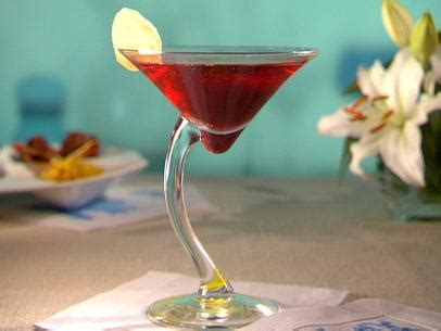 ina garten pomegranate cosmo pomegranate ginger spritzer recipe bobby flay food network