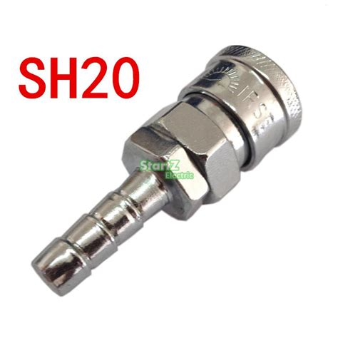 Coupling Compressor Angin Sh 20 sh20 join hose 8mm x 5mm pneumatic air compressor hose