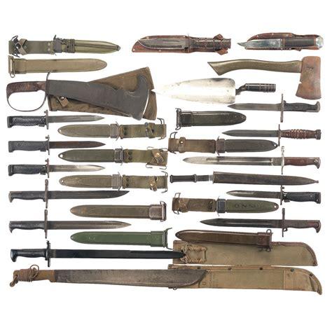 ww2 knives and bayonets u s bayonets knives and machetes
