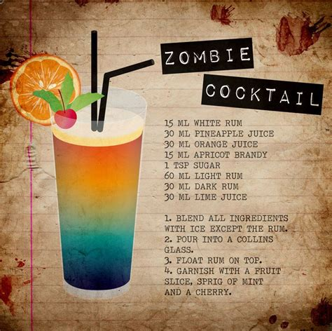 party themes beginning with z zombie cocktail rezepte suchen