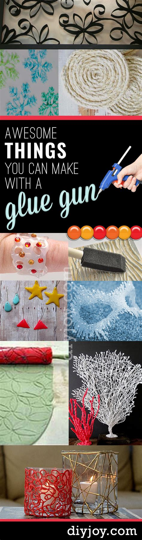 amazing diy crafts 38 unbelievably cool things you can make with a glue gun