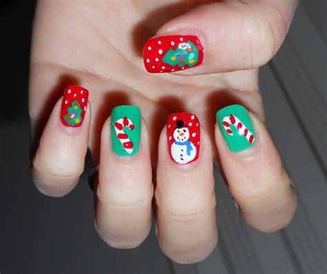imagenes de uñas decoradas navideñas 2015 u 241 as de navidad dise 241 os decoracion de u 241 as