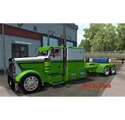 Peterbilt 389 Green/White Skin • ATS Mods  American Truck
