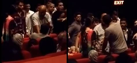theaters showing let there be light muslim family thrown out of theatre for not standing up