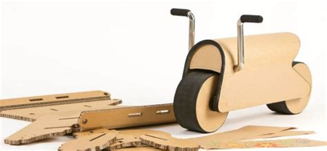 How To Make A Motorcycle Out Of Paper - diy cardboard bike d bike