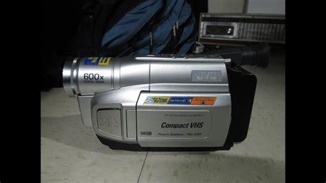 cassette videocamera jvc gr axm250 vhs c camcorder 2003