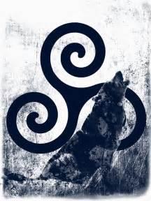 a mitologia de teen wolf triskelion