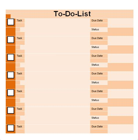 3 to do list template word outline templates