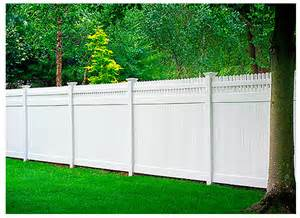 vinyl fence colors all guard vinyl fence in 35 colors and woodgrain vinyl