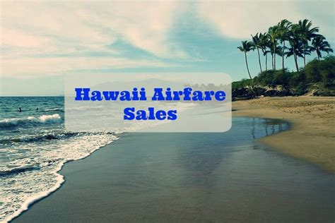 new fall hawaii airfare sales the hawaiian home
