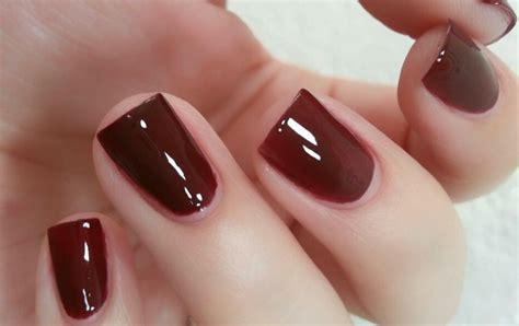 imagenes de uñas pintadas de color vino u 241 as con esmalte color vino