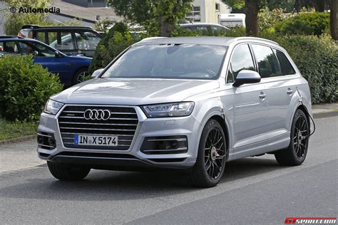 audi sq7 audi sq7 at the nurburgring without camo gtspirit
