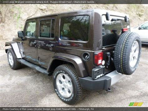 Brown Jeep Wrangler 2013 Jeep Wrangler Unlimited 4x4 In Rugged Brown