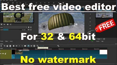Best free vedio editing software without watermark for 32