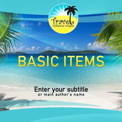powerpoint vacation themes travel powerpoint templates