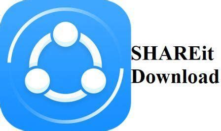 how to use shareit app for laptop windows 8.1, 7, 10
