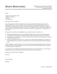 cover letter sle sales sles of resume letters that show how to sell yourself
