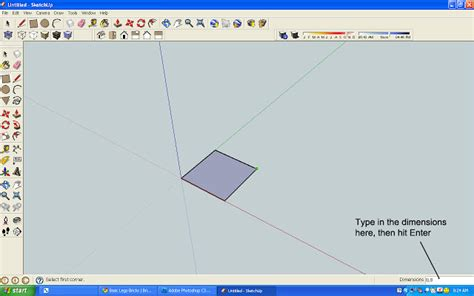 sketchup layout in mm saturday s sketchup first steps a lego brick
