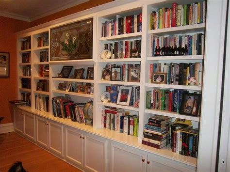 Wall To Wall Bookcase Custom Bookshelves Idea Bookshelves Pinterest Ikea