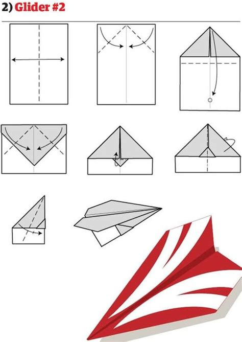 How Do You Make A Glider Paper Airplane - here s how to make cool paper air planes