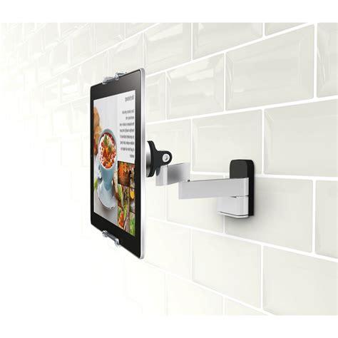 support tablette pour cuisine vogel s pack support tablette mural articul 233 universel