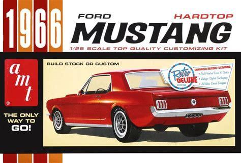 ford mustang model kit amt 1966 ford mustang hardtop model kit