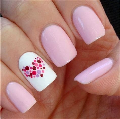 easy nail art with one color розовый маникюр розовый маникюр фото