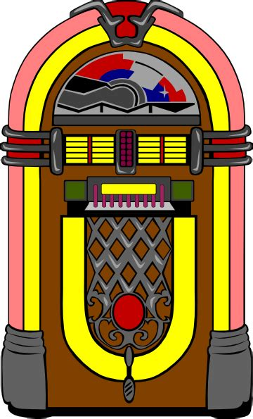 jukebox clipart fifties jukebox 3 clip at clker vector clip