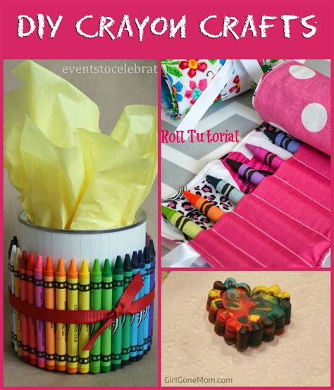 diy crafts with crayons crayon craft ideas to help you celebrate national crayon day 5 minutes for