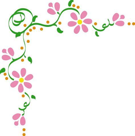 flores de hojas para imprimir bordes para tarjetas gratis con flores imagui bordes