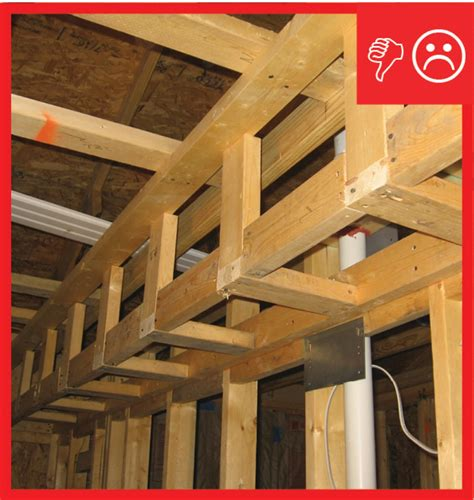 Best Plywood For Kitchen Cabinets dropped ceiling soffit below unconditioned attic