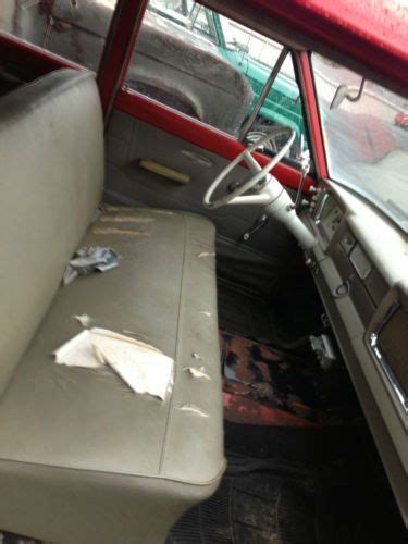 Jeep Interior Paint by Purchase Used 1964 Jeep Wagoneer 4x4 6cyl 3sp Ps Early Survivor Original Interior Paint