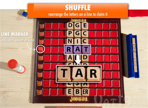 Shuffle The Letters To Make A Word jumbulaya the word jumble board for 2 4 players