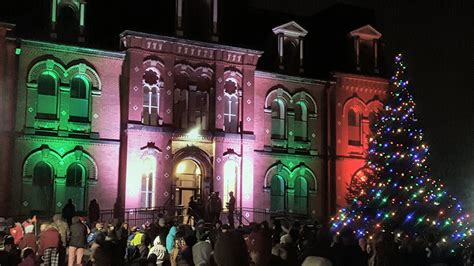 festival of trees and lights 2017 2017 truro festival of lights bible hill kinsmen