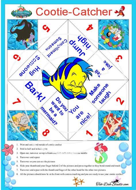 Cootie Catcher Origami - cootie catcher disney magic catcher