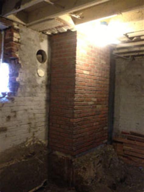 brick fireplace repair chimney repair restoration leveling denver