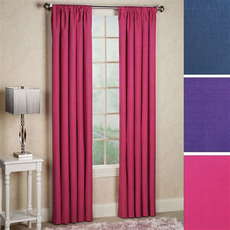 a touch of class curtains kendall bright thermaback tm blackout curtain panels