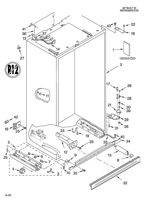 wiring diagram for kitchenaid refrigerator wiring