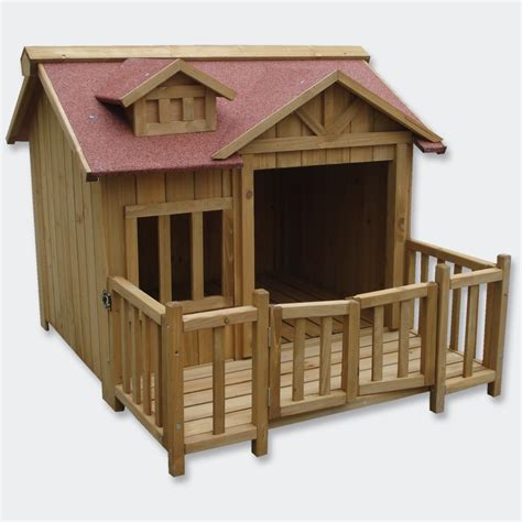 xxl dog house xl outdoor dog kennel dog house with veranda massive wood