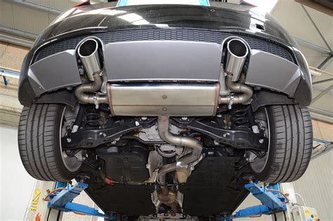 Audi Tt 8j Auspuffanlage by New Sport Exhaust For Audi Tt Mk3 2 0 Tfsi 2015 July 13