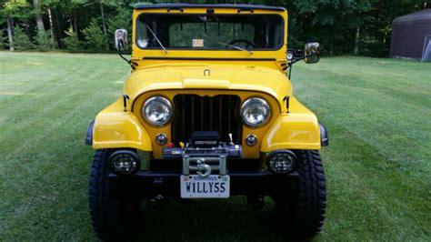 Jeep Cj4 For Sale 1955 Jeep Willys Cj5 4x4 Restored No Rust Wrangler Cj3 Cj4