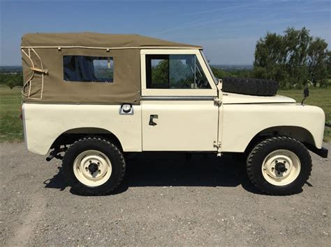 old land rover models classic 1966 landrover serie 2a for sale classic