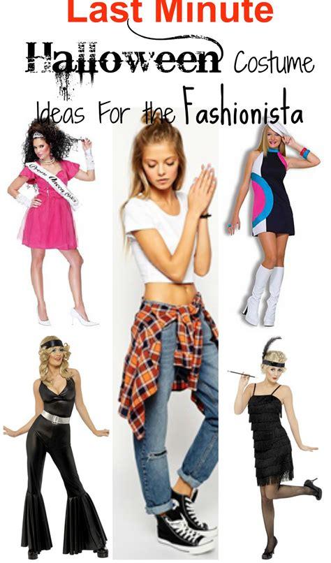 minute halloween costume ideas   fashionista