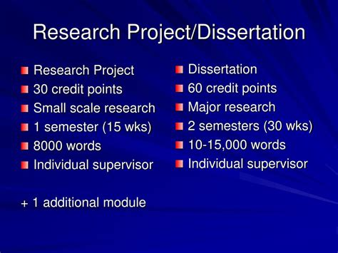 project dissertation ppt masters in education specialism in sen dr una o