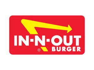In And Out In N Out Burger Logo Brands I Burgers