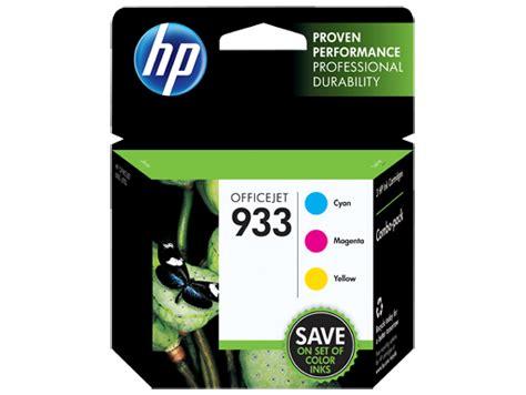 Hp Original Ink Cartridge 933 Magenta hp 933 3 pack cyan magenta yellow original ink cartridges