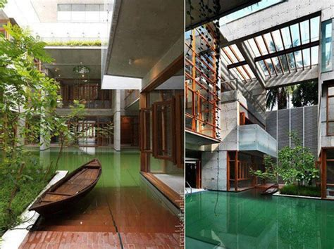 big house with beautiful ponds as cooling elements the 20 wonderful indoor ponds home design and interior